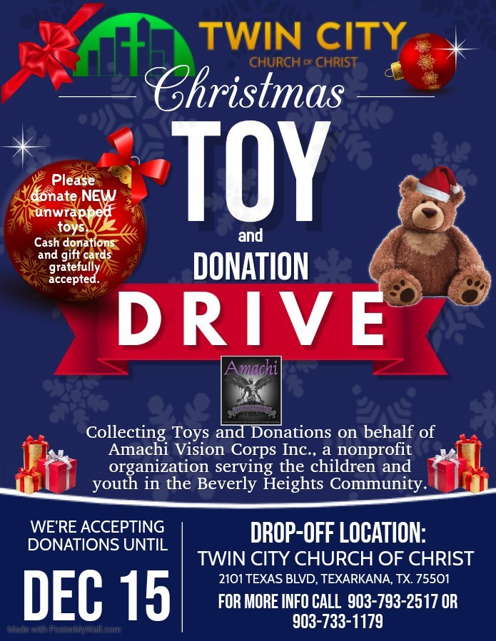 Toy Drive 12-15 flyer