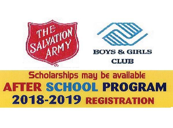 Boys-GirlsClub AFTER SCHOOL PROGRAM REGISTRATION